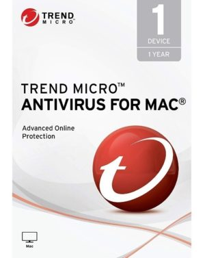 Trend Micro Antivirus para Mac 1 Dispositivo 1 Año