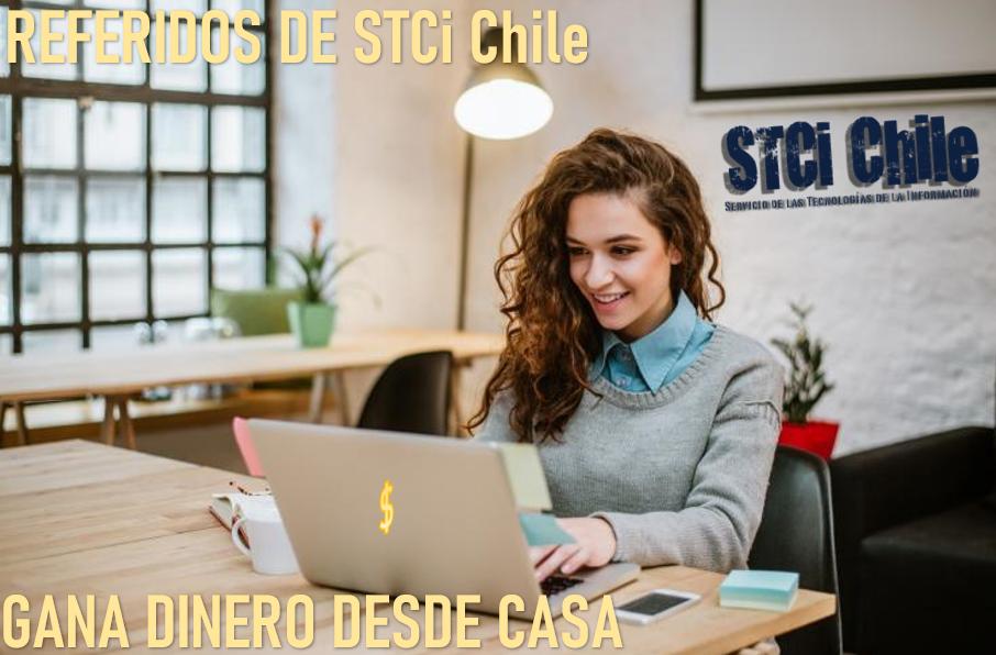 Gana dinero extra con Referidos de STCi Tech