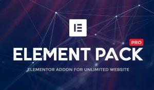 Element Pack Pro para Elementor Pro