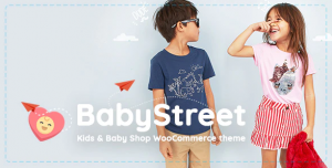 BabyStreet Theme for Kids Toys and Clothes Woocommerce