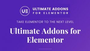 Ultimate Addons for Elementor UE