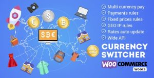 WooCommerce Currency Switcher Multi Currency y Multi Pay