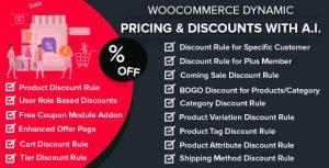 Precios dinamicos de WooCommerce y descuentos con IA