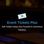 Event Ticket Plus for Woocommerce Vende Tickets o Entradas en WordPress