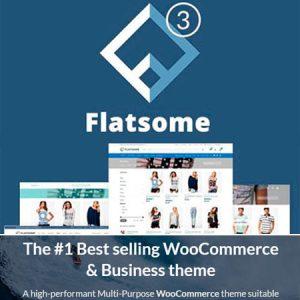 Flatsome Woocommerce Theme Premium Incluye Demo Import