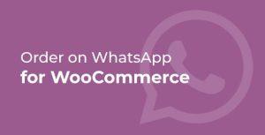 Ordenes por Whatsapp para Woocommerce