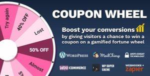 Coupon Wheel For WooCommerce and WordPress Rueda de cupones