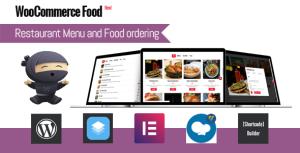 WooCommerce Food Menu de Restaurante y Pedidos de comida