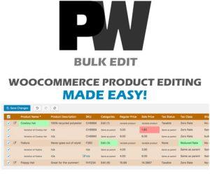 PW WooCommerce Bulk Edit Pro By PimWick