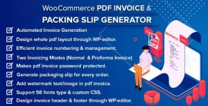 WooCommerce PDF Invoice y Packing Slip with Credit Note