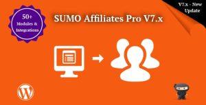 SUMO Affiliates Pro WordPress Affiliate