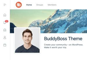 Budyboss Theme Wordpress by BudyPress